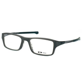 Oakley Chamfer OX8039-0253 Satin Flint Rectangle 53mm Eyeglasses