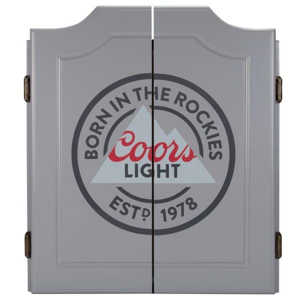 Coors Light Dartboard Set