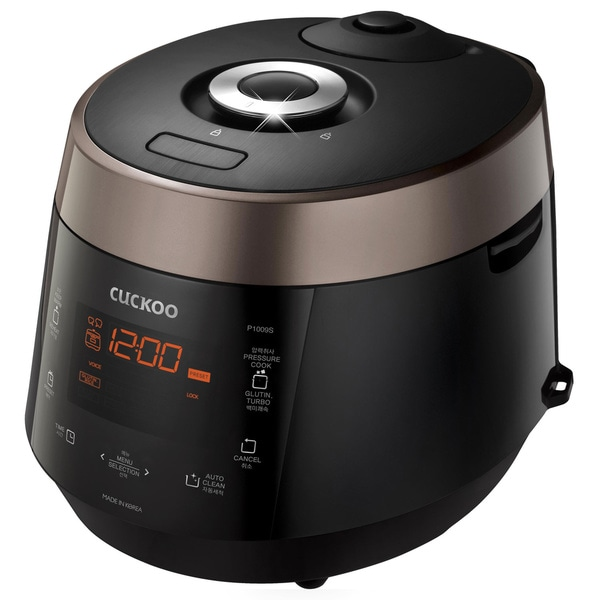 Cuckoo CRP-P1009S 10 Cups Electric Pressure Rice Cooker. Opens flyout.