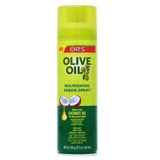 ORS Organic Root Stimulator 11.7 oz. Olive Oil Nourishing Sheen Spray (Pack of 2)