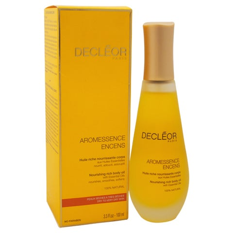 Decleor Aromessence Encens Nourishing Rich 3.3-ounce Body Oil