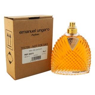 Emanuel Ungaro Diva Petite Women's 3.4-ounce Eau de Parfum Spray (Tester)