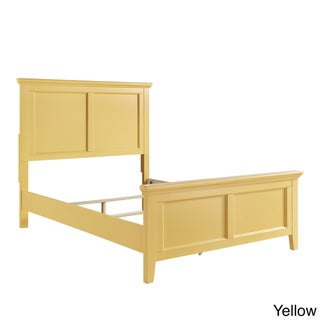 preston queen wood panel bed by iq kids