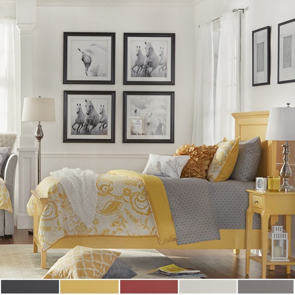 Preston Twin-sized Wood Panel Headboard Or Bed by iNSPIRE Q Junior. Opens flyout.