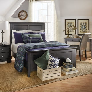 IQ KIDS Preston Queen Wood Panel Bed
