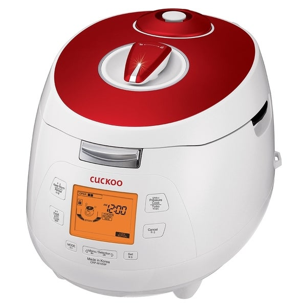 Cuckoo CRP-M1059F 10 Cups Electric Pressure Rice Cooker. Opens flyout.