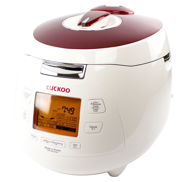 cuckoo crpm1059f 10 cups electric pressure rice cooker free shipping today