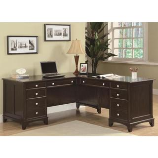 Gilson L-shaped Desk and File Cabinet