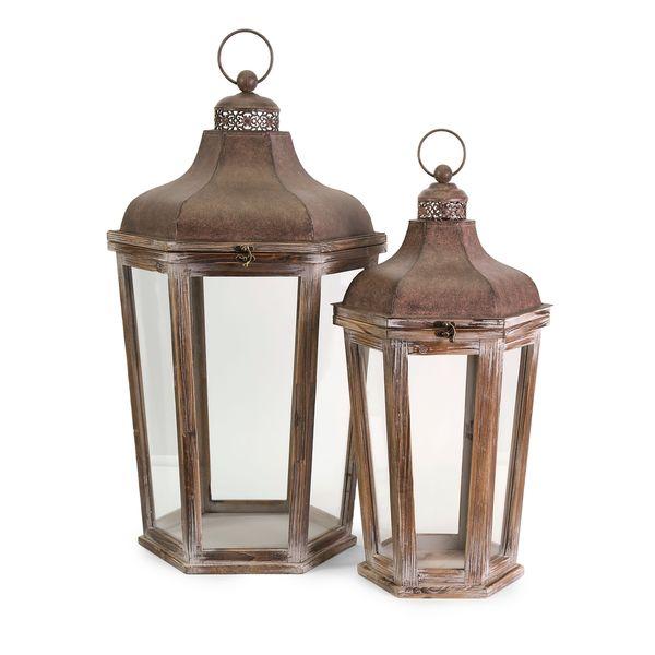 Layla Oversized Lanterns (Set of 2)