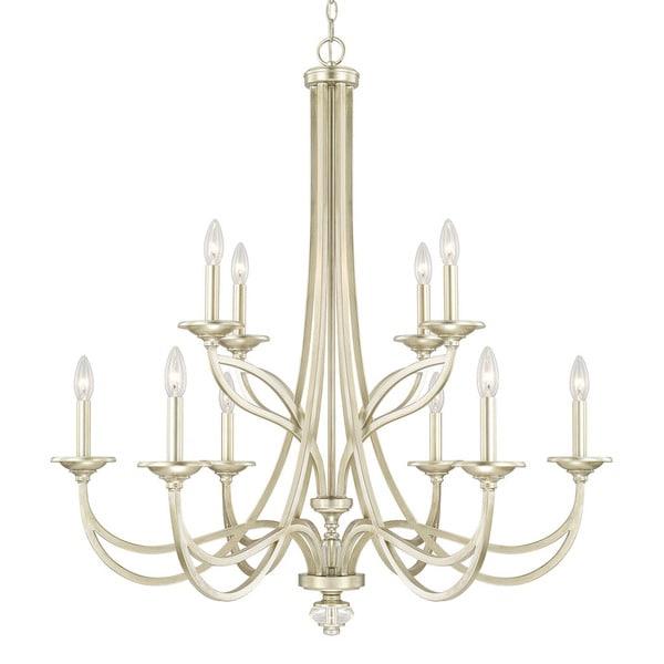 Capital Lighting Windsor Collection 10-light Soft Gold Chandelier