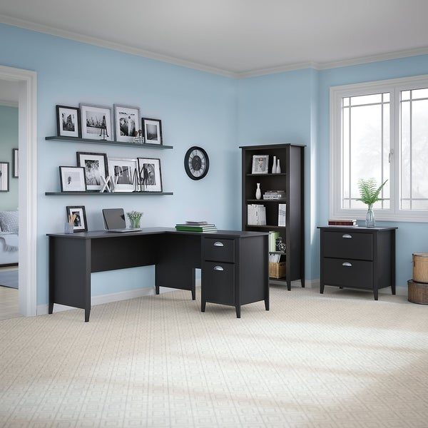 Shop Kathy Ireland Office By Bush Furniture Connecticut 60w L Desk