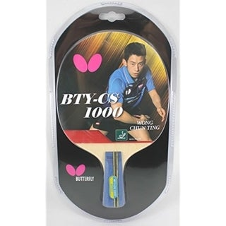 Butterfly CS 1000 Table Tennis Racket - Chinese Penhold Ping Pong Paddle