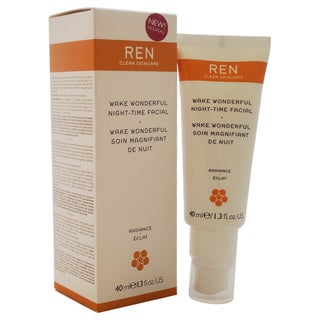 REN Wake Wonderful Night-Time Facial 1.4-ounce Treatment