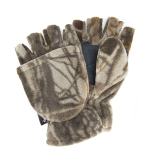 Men's Waterproof Fleece Flip Mittens