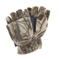 Men's Waterproof Fleece Flip Mittens