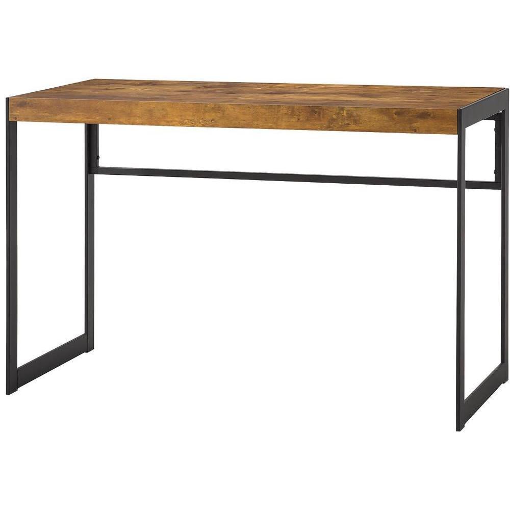Pine Canopy Fern Industrial Wood/ Metal Computer Desk