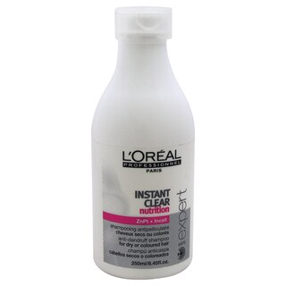 L'Oreal Serie Expert Instant Clear Nutrition 8.45-ounce Anti-Dandruff Shampoo