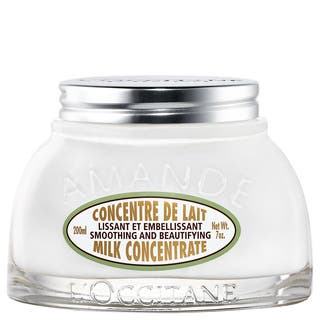 L'Occitane Amande Smoothing and Beautifying 7-ounce Milk Concentrate|https://ak1.ostkcdn.com/images/products/11782814/P18693629.jpg?impolicy=medium