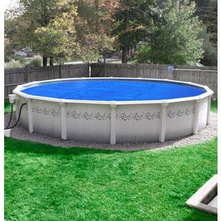 Pool Mate Deluxe 5-year Blue/Silver Polypropylene Above Ground Swimming Pool Solar Blanket|https://ak1.ostkcdn.com/images/products/11782822/P18693602.jpg?impolicy=medium