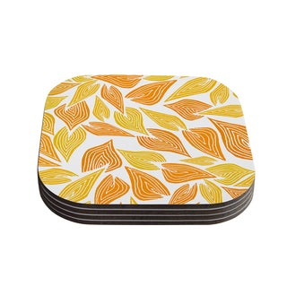 Kess InHouse Pom Graphic Design 'Autumn' Coasters (Set of 4)