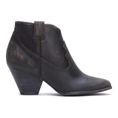 0f1eee4815e Shop Frye Women's Reina Black Leather Bootie - Free Shipping Today ...