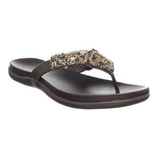 Women's Kenneth Cole Reaction Glam-Athon Sandal Bark Metallic (More options available)