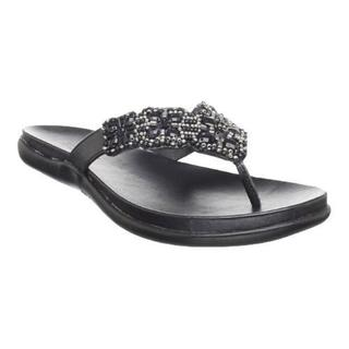 Women's Kenneth Cole Reaction Glam-Athon Sandal Black Metallic (More options available)
