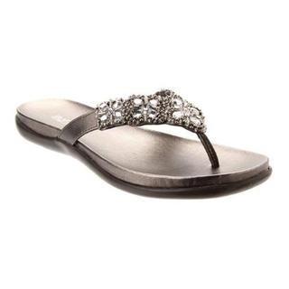 Women's Kenneth Cole Reaction Glam-Athon Sandal Pewter Metallic