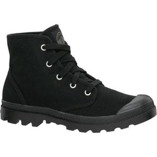 Women's Palladium Pampa Hi 92352 Linen Black/Black (More options available)