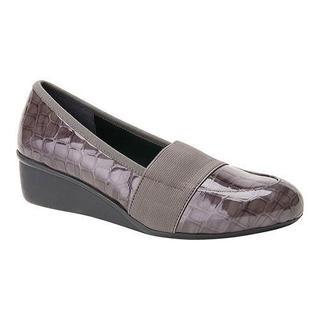 Women's Ros Hommerson Erica Grey Croc Patent