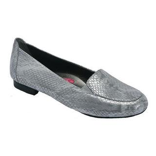 Women's Ros Hommerson Regan Loafer Silver Leather