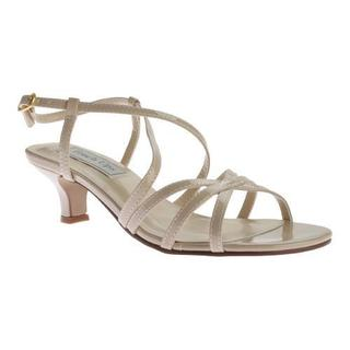 Women's Touch Ups Eileen Strappy Sandal Nude Patent PU