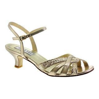 Women's Touch Ups Jane Sandal Champagne Glitter