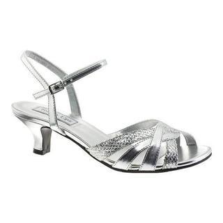 Women's Touch Ups Jane Sandal Silver Glitter