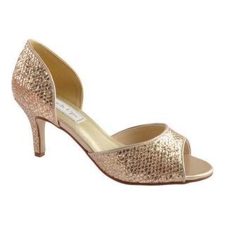 Women's Touch Ups Jolee Champagne Glitter