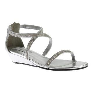 Women's Touch Ups Moriah Strappy Sandal Silver