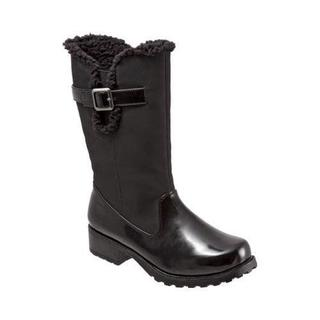 Women's Trotters Blizzard III Boot Black Box Synthetic/Rubber
