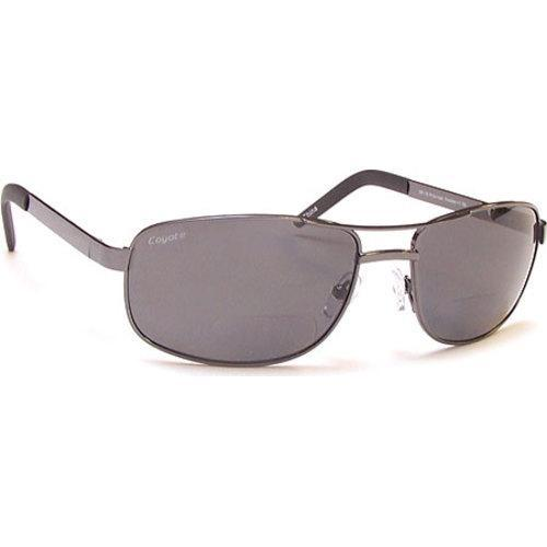 3f71b3b949d Shop Men s Coyote Eyewear BP-16 Polarized Reader Sunglasses Gunmetal Grey -  On Sale - Free Shipping Today - Overstock.com - 11880496