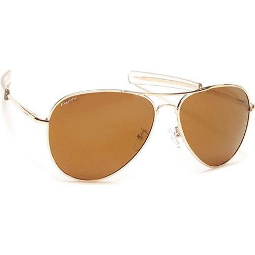 ae2167010e8 Shop Coyote Eyewear Miramar Polarized Aviator Sunglasses Gold Brown Gold  Mirror - On Sale - Free Shipping Today - Overstock.com - 11880502