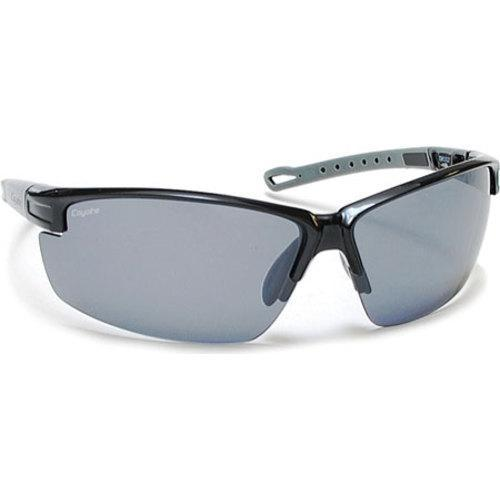 211cb839690 Shop Coyote Eyewear Napa Polarized Sport Sunglasses Black Grey Silver  Mirror - On Sale - Free Shipping Today - Overstock.com - 11880541