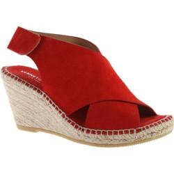 Women's Kenneth Cole New York Quin Espadrille Wedge Tomato Suede