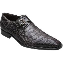 Men's Mezlan Gables Grey Genuine Crocodile