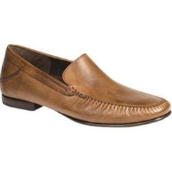 Men's Mezlan Murillo Moc Toe Loafer Tan Translucent Soft Calfskin