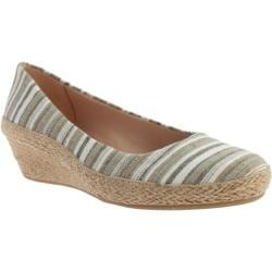 Women's Easy Spirit Dellina Wedge Green Multi Fabric