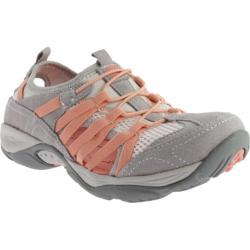 Women's Easy Spirit Ezline Light Grey Combo Suede
