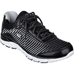 Women's Easy Spirit Ignite Walking Sneaker Black Multi Leather