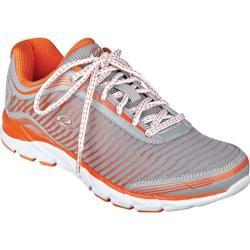 Women's Easy Spirit Ignite Walking Sneaker Light Grey Multi Leather