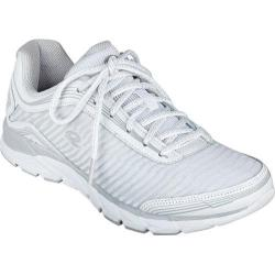 Women's Easy Spirit Ignite Walking Sneaker White Multi Leather