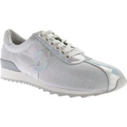 Women's Easy Spirit Lexana Sneaker Light Grey/Silver Fabric