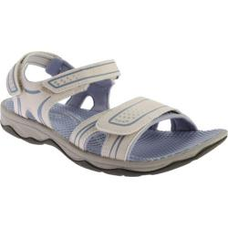 Women's Easy Spirit Yolo Sandal Light Grey Synthetic